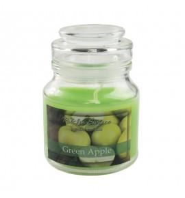 Green Apple - świeca zapachowa w słoiczku