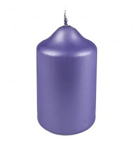 WALEC 45/75 FIOLET MAT METALLIC - świeca klasyczna