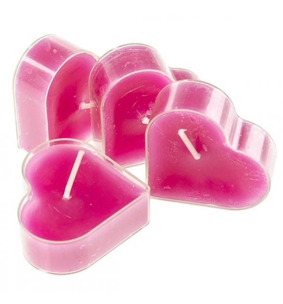 Serce Lovely Gift 4szt. - podgrzewacze kształty zapachowe