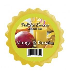 MANGO & BANANA - wosk zapachowy
