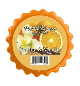 ORANGE & VANILLA - wosk zapachowy