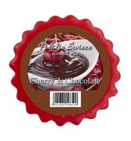 CHOCOLATE & CHERRY - wosk zapachowy