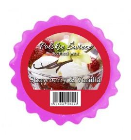 STRAWBERRY & VANILLA - wosk zapachowy