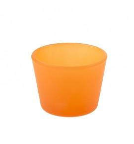 ŚWIECZNIK KONISZ NA VOTIV TEA LIGHT H-55 Pomarańcz