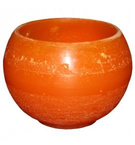 Kula D140 Pomarańcz - lampion parafinowy