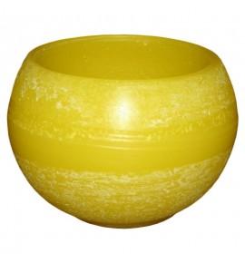 Kula D140 Żółty - lampion parafinowy