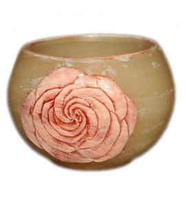 "Kula Ecrue ""Kwiat Róży"" D120 - lampion parafinowy"