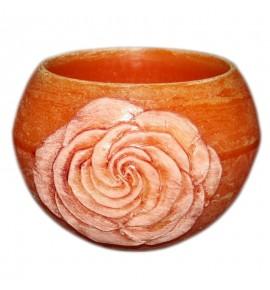 """Kula Pomarańcz """"Kwiat Róży"""" D120 - lampion parafinowy"""
