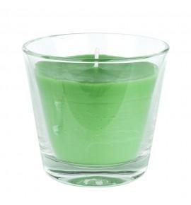 Green Apple H-80 - świeca zapachowa w szkle