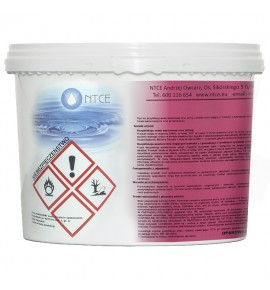 EXTRA CHLOR 5kg - granulat chlorowy do szybkiej dezynfekcji wody