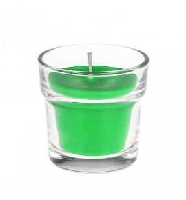 Green Apple H-65 - świeca zapachowa w szkle