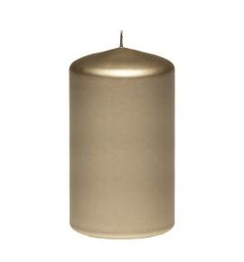 WALEC 80/130 BRĄZ METALLIC - świeca klasyczna