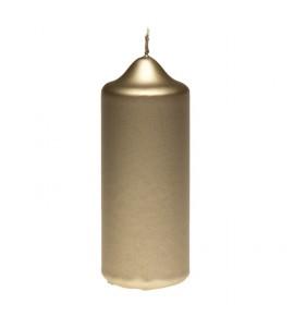 WALEC 50/120 BRĄZ METALLIC - świeca klasyczna