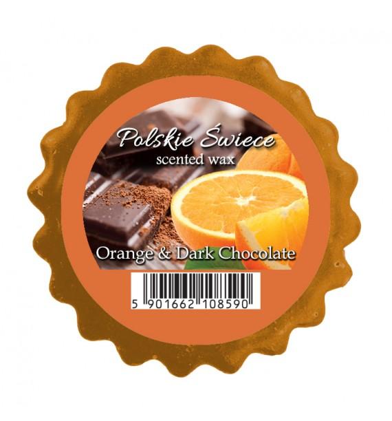ORANGE & DARK CHOCOLATE - wosk zapachowy