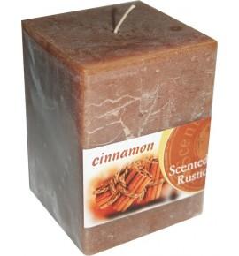 CINNAMON RUSTIC 65/65/90 - świeca zapachowa