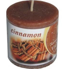 CINNAMON RUSTIC 50/50 - świeca zapachowa