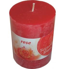 ROSE RUSTIC 60/80 - świeca zapachowa