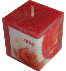 ROSE RUSTIC 50/50/50 - świeca zapachowa