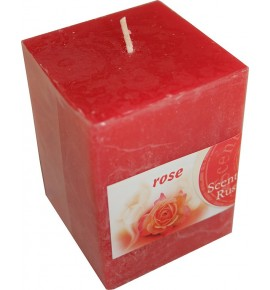 ROSE RUSTIC 65/65/90 - świeca zapachowa