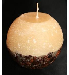KAWA d80 KREM - świeca zapachowa z ziarnami kawy