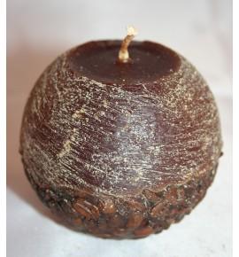 KAWA d80 BRĄZ - świeca zapachowa z ziarnami kawy